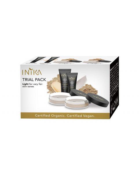 INIKA Organic Trial Pack Light Tones