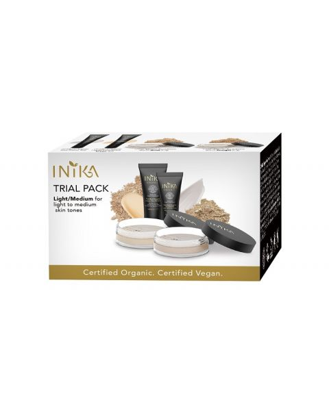 INIKA Organic Trial Pack Light/Medium Tones