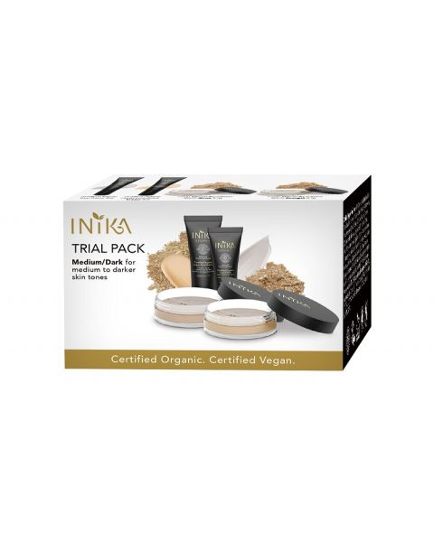 INIKA Organic Trial Pack Medium/Dark Tones